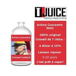 Concentré Colonel Custard T-Juice 30 ml
