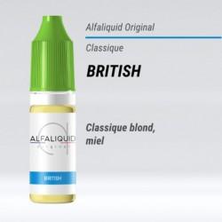 eLiquide saveur classique British Alfaliquid - 10 ml