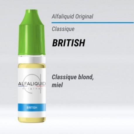 eLiquide British Alfaliquid - 10 ml