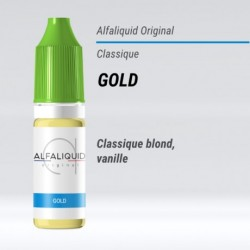 eLiquide Gold Alfaliquid - 10 ml