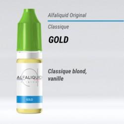 eLiquide saveur classique Gold Alfaliquid - 10 ml