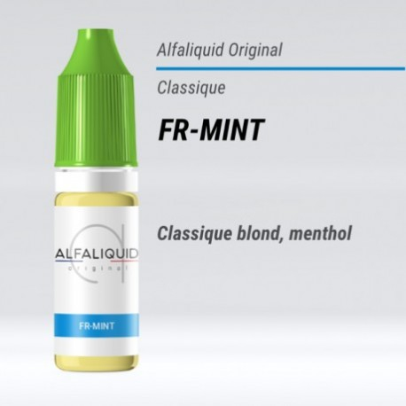 eLiquide saveur classique FR-Mint Alfaliquid - 10 ml