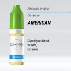eLiquide saveur classique American Alfaliquid - 10 ml
