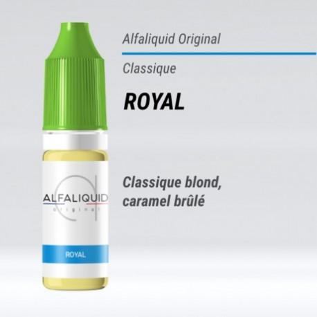 eLiquide saveur classique Royal Alfaliquid - 10 ml