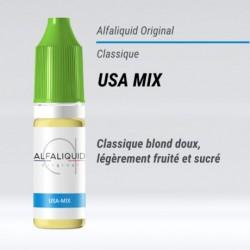 eLiquide saveur classique USA MIX Alfaliquid - 10 ml