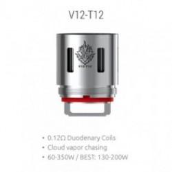 Résistance TFV12 - T12 Smoktech x3