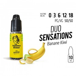 Banane Kiwi - Duo sensation LE VAPOTEUR BRETON 10ml