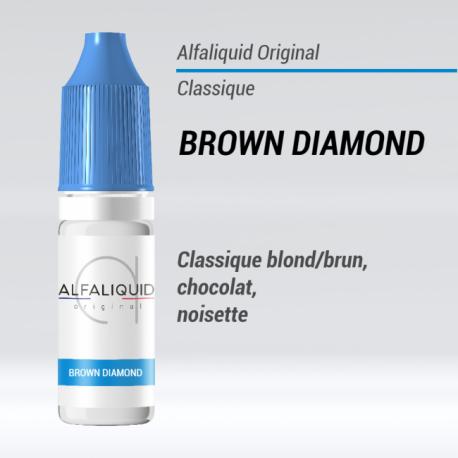 saveur classique Brown Diamond Alfaliquid 10mL