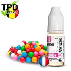 Bubble Gum Flavour Power - TPD Belgique 5x10 ml