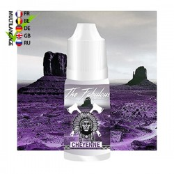CHEYENNE THE FABULOUS E-LIQUIDE 50ML ZHC 0MG TPD EUROPE