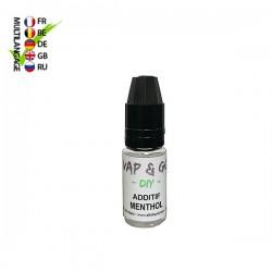 Additif Menthol VAP&GO DIY 10ml TPD Belgique