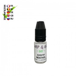 Additif Menthol VAP&GO DIY 10ml TPD Belgique