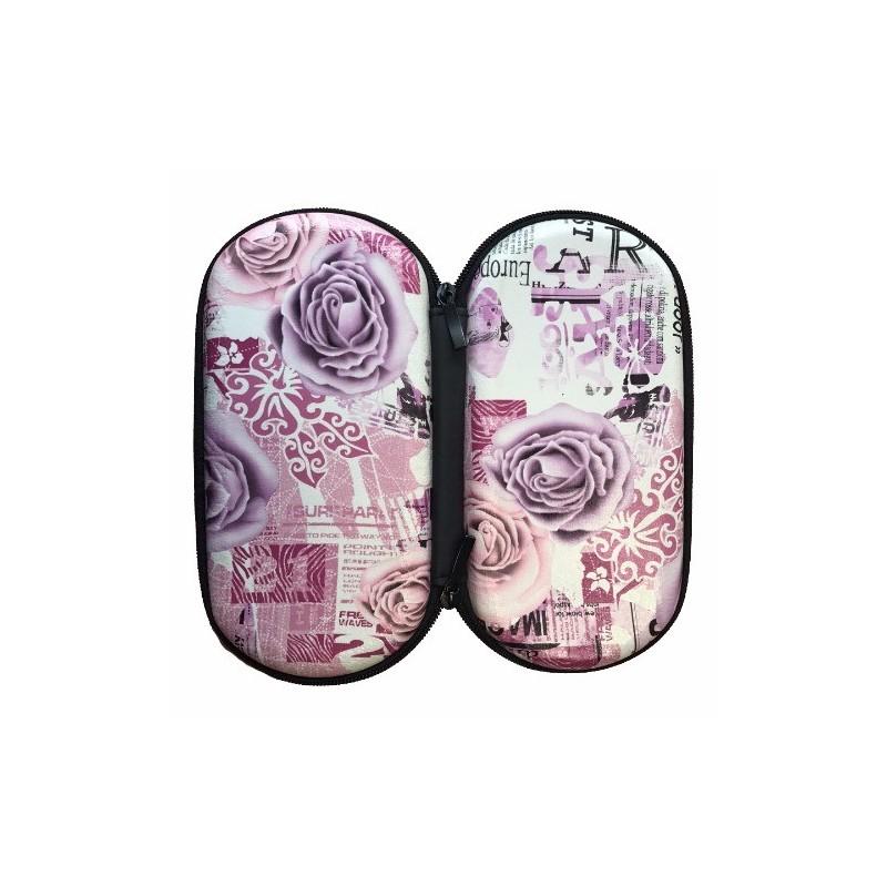 Etui zip motif roses taille xl for Envoyer des roses