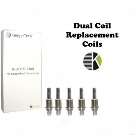 Résistance double coil Kangertech V2 x5