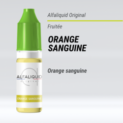 eLiquide Orange sanguine Alfaliquid - 10 ml