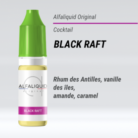 eLiquide Black Raft Alfaliquid - 10 ml