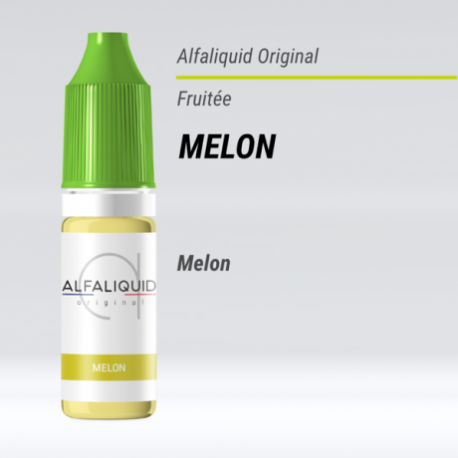 eLiquide Melon Alfaliquid - 10 ml