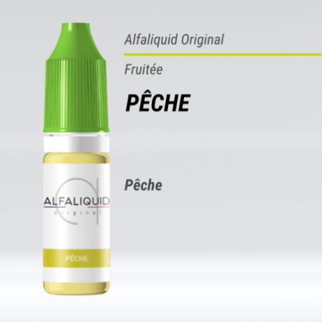 eLiquide Pêche Alfaliquid - 10 ml