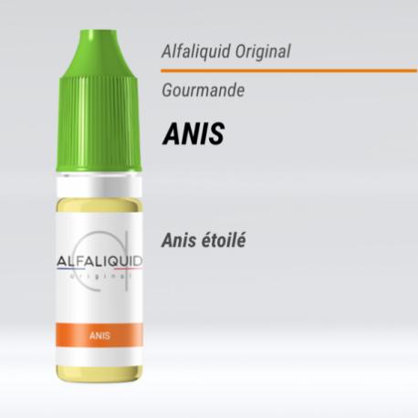 eLiquide Anis Alfaliquid - 10 ml