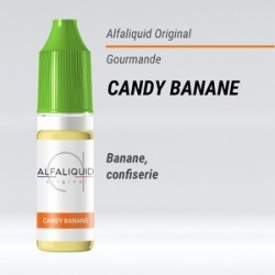 eLiquide Candy Banane Alfaliquid - 10 ml