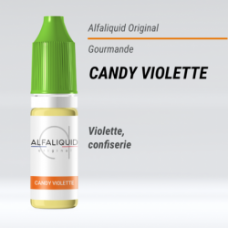 eLiquide Candy Violette Alfaliquid - 10 ml