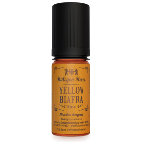 Yellow Biafra Halcyon Haze 10 Ml