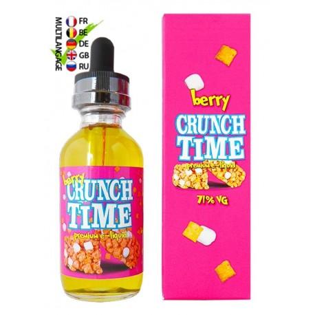 CRUNCH TIME CRUNCH TIME BERRY 50ML ZHC 0MG TPD EU