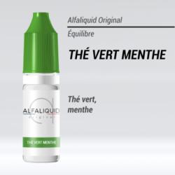 Thé vert à la menthe Alfaliquid 10ml