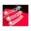 Présentoir plexiglass pour drip tip