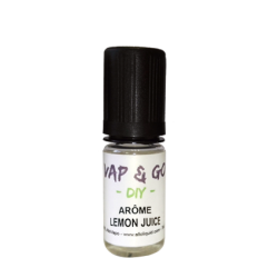 Arôme Lemon Juice VAP & GO DIY 10ml