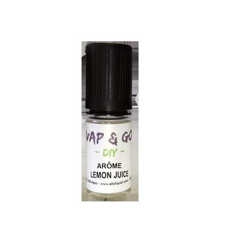 Arôme Lemon Juice VAP&GO DIY 10ml