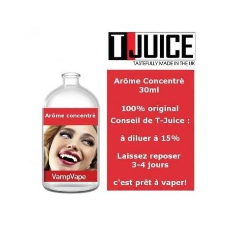 Concentré Vamp Vape T-Juice 30 mL