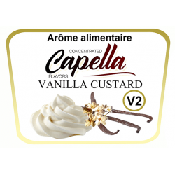 Concentre Vanilla V2 Custard Capella 10Ml