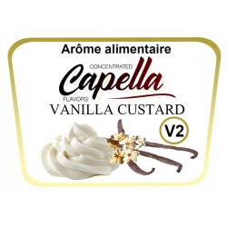 Concentre Vanilla V2 Custard Capella 10Ml