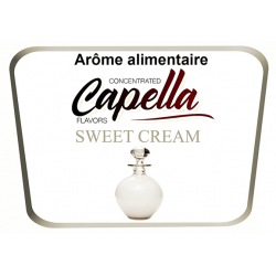 Concentre Sweet Cream Capella 10Ml