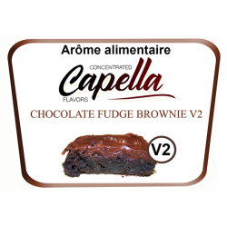 Concentre Chocolat Fudge Brownie Capella 10Ml
