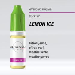 Eliquide Lemon Ice Alfaliquid 10 Ml