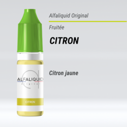 Eliquide Citron Alfaliquid 10 Ml