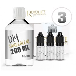 Pack DIY 50/50 200ml REVOLUTE
