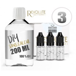 Pack DIY 100% VG REVOLUTE 200ml