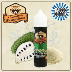 SOURSOP ICE CREAM SODA by RASCAL ZHC 50ml 0mg TPD EU