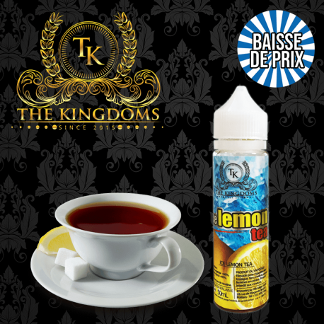 Ice Tea Lemon The Kingdoms ZHC 50ml TPD EU