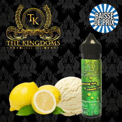 10X Sparkling Lemon Ice The Kingdoms GF 50 ml