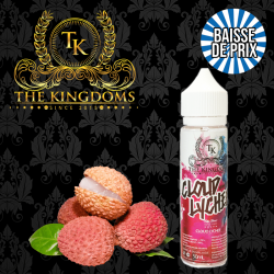 10X Cloud Lychee The Kingdoms GF 50 ml