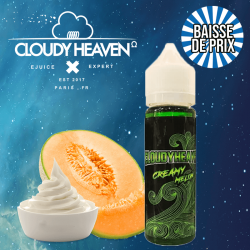 10X Creamy Melon Cloudy Heaven GF 50 ml