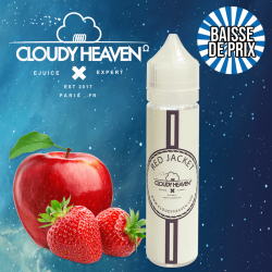 RED JACKET Cloudy Heaven ZHC 50ml 0mg TPD Belgique