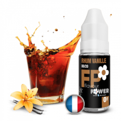 Rhum-Vanille Flavour Power 10 ml en PG/VG 80/20