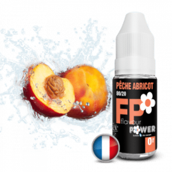 Pêche-abricot FLAVOUR POWER 10ml PG/VG 80/20