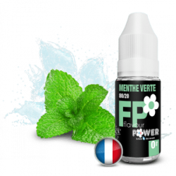 Menthe Verte FLAVOUR POWER 10ml PG/VG 80/20