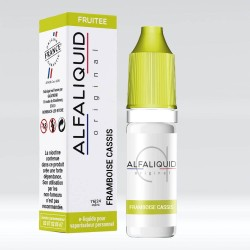 eLiquide Framboise Cassis Alfaliquid - 10 ml